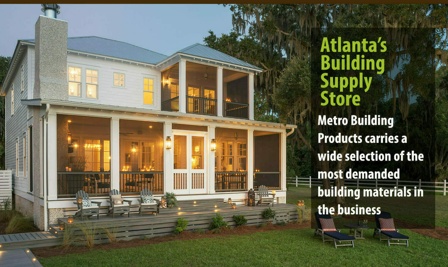 Metro Atlanta Home Builders Metro Building Products