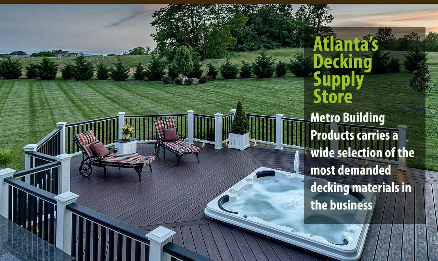 Metro Atlanta Decking Products